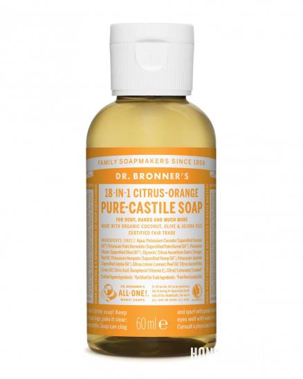 Tekuté mýdlo ALL-ONE citron-pomeranč 59ml