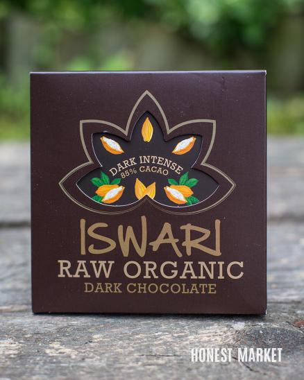 Čokoláda RAW vegan 85% kakao dark intense BIO 75g