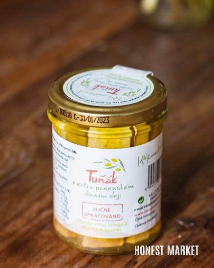 Tuňák v extra panenském olivovém oleji 200g