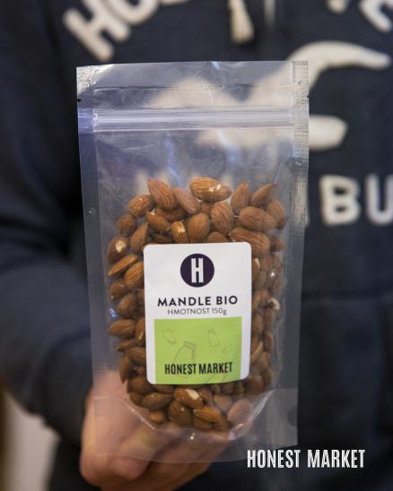 Mandle natural BIO 150g