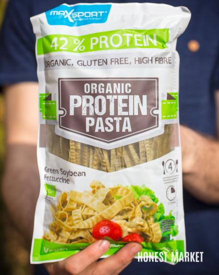 Proteinové těstoviny zelená sója 200g