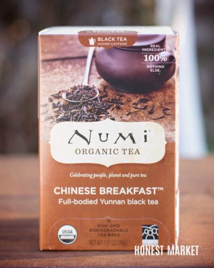 Černý čaj Chinesse Breakfast BIO