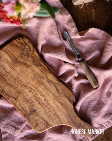 Prkénko z olivového dřeva menší, 35cm