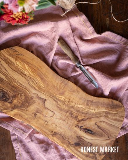Prkénko z olivového dřeva velké, 45cm