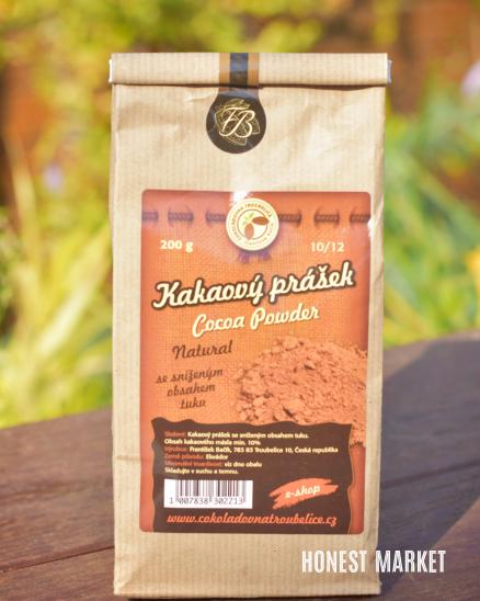 Kakaový prášek natural BIO 200g