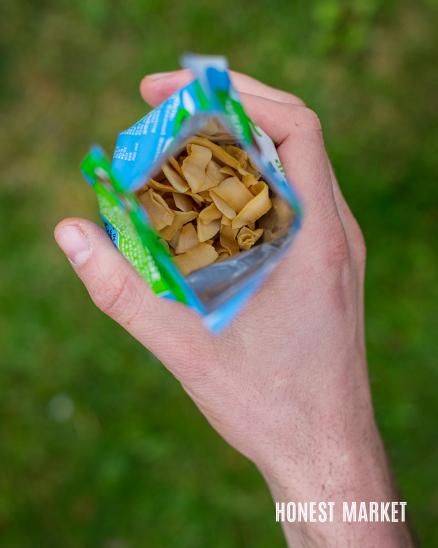 Kokosové chipsy 25g