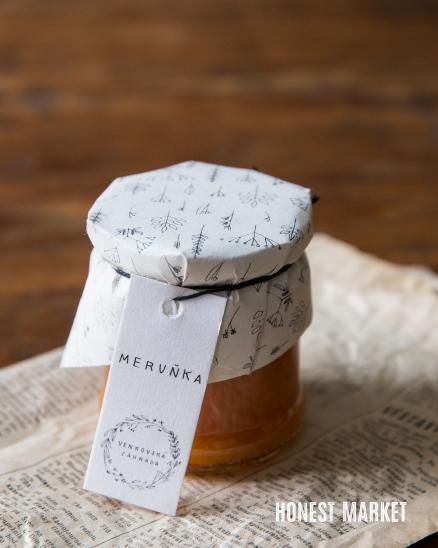 Domácí meruňková marmeláda, 230g