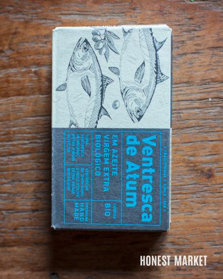 Tuňákové filety VENTRESCA v olivovém oleji  BIO 120g
